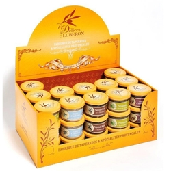 Delices du Luberon Display Box of Assorted Spreads