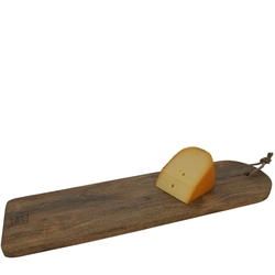 French Farm Collection Rectangular Wooden Serving Plate with Slit