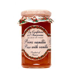Les Confitures a l'Ancienne Pear Vanilla Jam