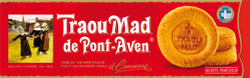 Traou Mad Pont Aven Thick Palet Cookies in Red Carton