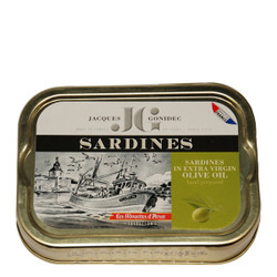 Gonidec Sardines in Organic Extra Virgin Olive Oil