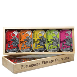 Conservas Portugal Norte Sardines in Wood Gift Box