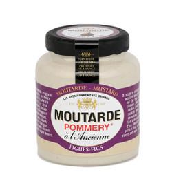 Pommery Fig Mustard - Small Stone Jar