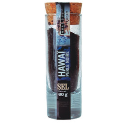 Quai Sud Hawaiian Black Salt in Shot Glass