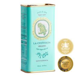 La Cultivada Organic Quintaesencia Extra Virgin Olive Oil Large Tin