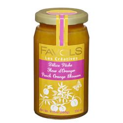 Favols Peach Jam with Orange Blossoms