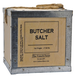 French Farm Collection Butcher Salt Box