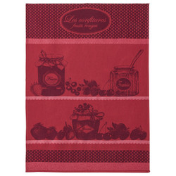 Coucke Red Jam Tea Towel