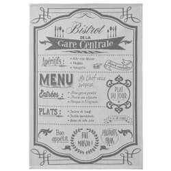 Coucke Bistro Menu Tea Towel