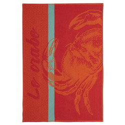 Coucke Crab Tea Towel