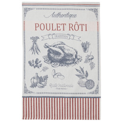 Coucke Roasted Chicken Tea Towel