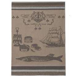 Coucke Prestige Caviar Tea Towel