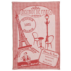 Coucke Paris Bistro Tea Towel