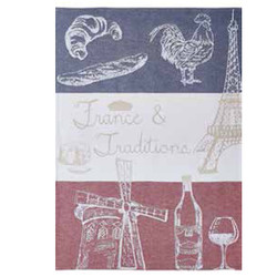 Coucke French Traditions Tea Towel
