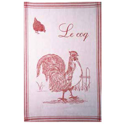 Coucke Le Coq/Rooster Tea Towel