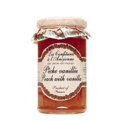 Les Confitures a l'Ancienne Peach Vanilla Jam
