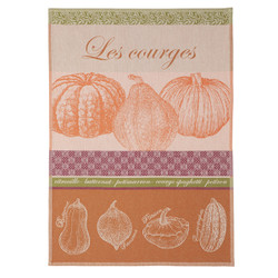 Coucke Courges/Squash Tea Towel