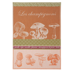 Coucke Les Champignons/Mushrooms Tea Towel