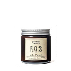 "Les Choses Simples Mini Candle No. 3 ""Jardin d'Agrumes"" (Citrus)"
