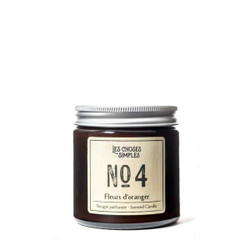 Les Choses Simples Mini Candle No. 4 (Orange Blossom)