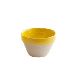 Yellow Conic Bowl