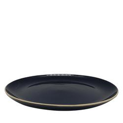 Navy Dinner Plate