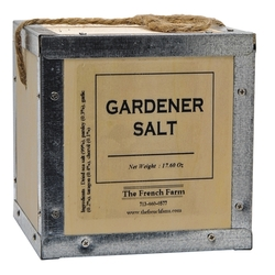 French Farm Collection Gardener Salt Box