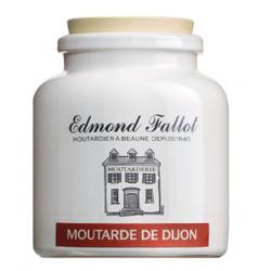 Traditional Dijon Mustard in a Stone Jar