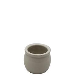 White Yogurt Jar