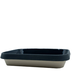 Manufacture de Digoin Large 3L Baking Dish Navy Blue