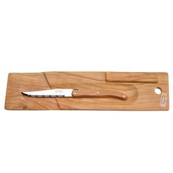 Jean Dubost Baguette/Salami Board & Knife