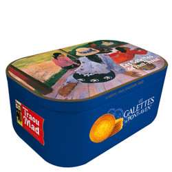 Traou Mad Pont Aven Thin Galette Cookies in VIP Blue Tin