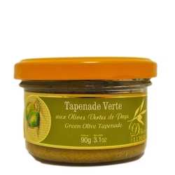 Delices du Luberon Green Olive Spread