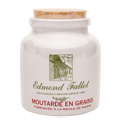 Edmond Fallot Old Fashion Grain Mustard Stone Jar