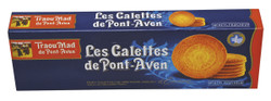 Traou Mad Pont Aven Thin Galette Cookies in Blue Carton