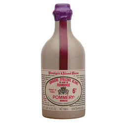Pommery Raspberry White Wine Vinegar Stone Bottle