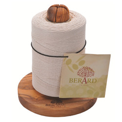 Berard Olive Wood Twine Holder with Twine