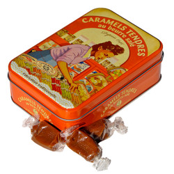 La Maison d'Armorine Salted Butter Caramels in Yvonne Tin