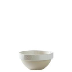 Manufacture de Digoin Serving Bowl White