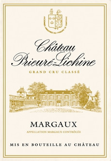 Torchons & Bouchons Tea Towel Chateau Prieure-Lichine