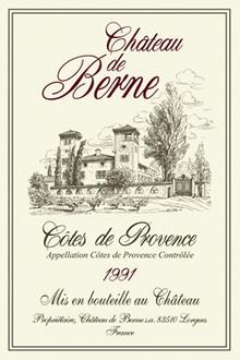 Torchons & Bouchons Tea Towel Chateau De Berne
