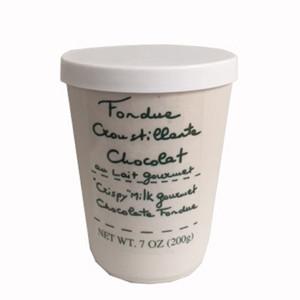Aux Anysetiers du Roy Milk Chocolate Fondue with Crispy Rice