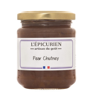 L'Epicurien Spiced Pear Chutney