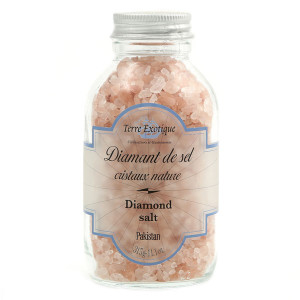 Terre Exotique Pink Diamond Salt Jar