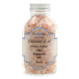 Terre Exotique Pink Diamond Salt Jar