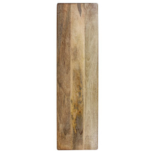 At Home with Marieke Extra Large Rectangular Wood Serving Board with Feet