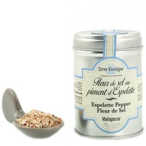 Terre Exotique Fleur de Sel with Espelette Chili Pepper