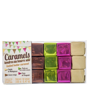 La Maison d'Armorine Assorted Caramels in Tray