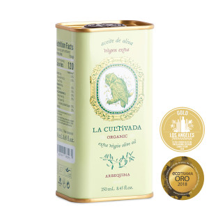 La Cultivada Organic Arbequina Extra Virgin Olive Oil