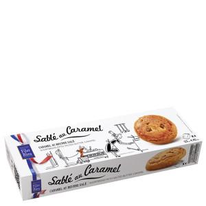 Filet Bleu Shortbread Cookies with Salted Butter Caramel